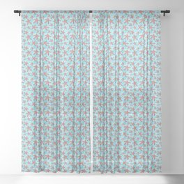 Star Spangled Sea Sheer Curtain