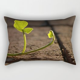 Ivy Leaf with Back Lighting Rectangular Pillow