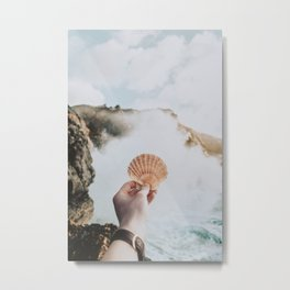 seashell ii Metal Print