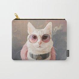 Fashion Portrait Cat Carry-All Pouch