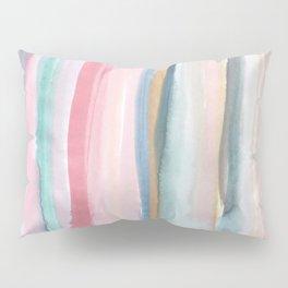 Watercolor stripe Pillow Sham