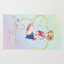 Sailor moon fantasy Rug
