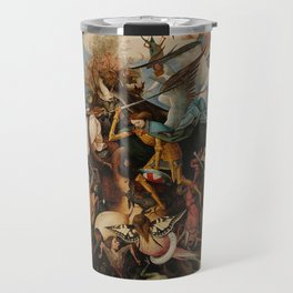 Pieter Bruegel the Elder The Fall of the Rebel Angels Travel Mug