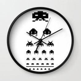 Gamers eye test Wall Clock