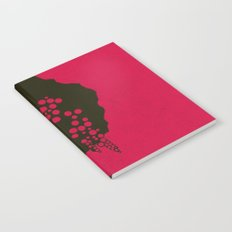Fruit Tree Series, Red I Notebook