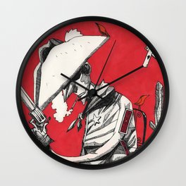 Cowboy (Volatile) Wall Clock