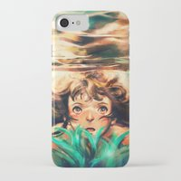 alicexz iPhone & iPod Cases featuring The River by Alice X. Zhang