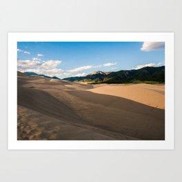 Great Sand Dunes, CO Art Print