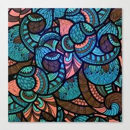Vitral Canvas Print