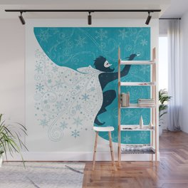 Jack Frost Wall Mural