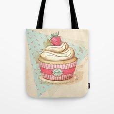 my Vintage Cupcake Tote Bag