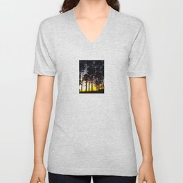 Sunset Silhouette Unisex V-Neck