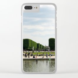 Luxembourg Gardens 14 Clear iPhone Case