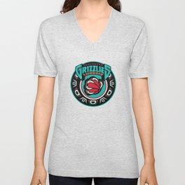 VancouverGrizzlies Logo Unisex V-Neck
