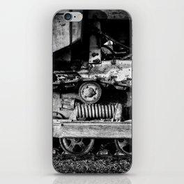Vintage Caterpillar Tracks iPhone Skin