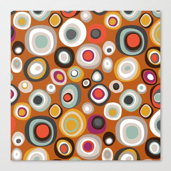 veneto boho spot amber Canvas Print