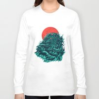 wave Long Sleeve T-shirts featuring wave by itssummer85