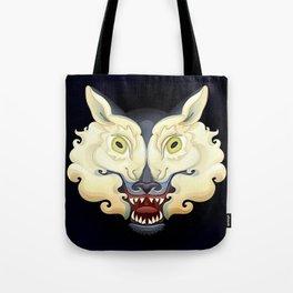 Wolf Lamb Tote Bag