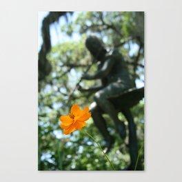 Garden Flute Canvas Print