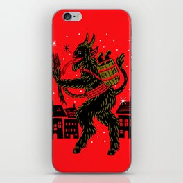 Krampus iPhone Skin