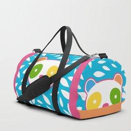 Rainbow Panda Duffle Bag
