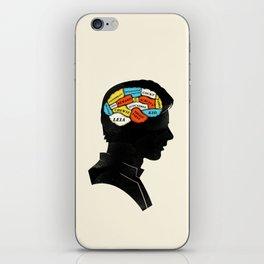 Han Phrenology iPhone Skin