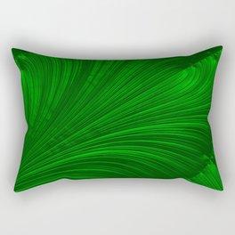 Renaissance Green Rectangular Pillow