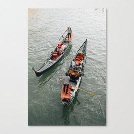 Venetian Gondola Ride Canvas Print