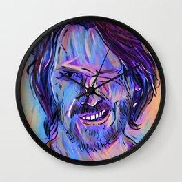 Reeves Purple Wall Clock