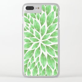 Petal Burst #23 Clear iPhone Case