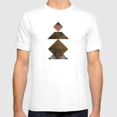 PAWN White MEDIUM Mens Fitted Tee