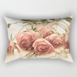 antique roses Rectangular Pillow