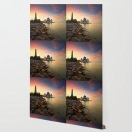 Lake Palace Sunset Wallpaper