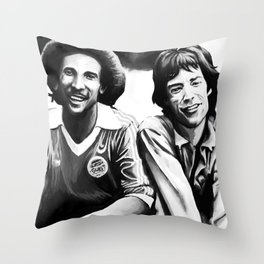 Music meeting Throw Pillow