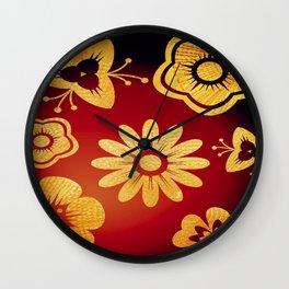 Mi Flor Wall Clock