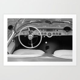 The finer things in life. Classic Corvette Art Print