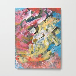 Abstract painting pattern Metal Print