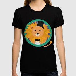 Lion groom with cylinder T-Shirt D2dqz T-shirt