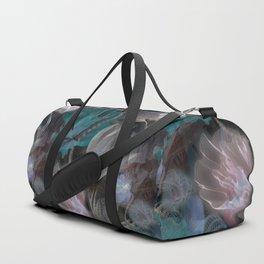 moody flowers Duffle Bag