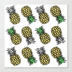 pineapple clear Canvas Print