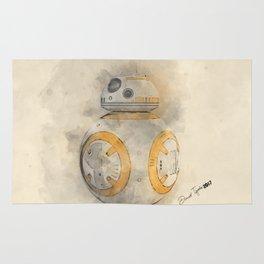 BB8 Watercolor Rug