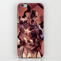 captain silva iPhone & iPod Skins featuring captain by Flo Zero