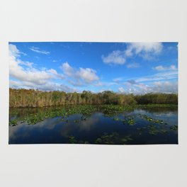 Blue Hour In The Everglades Rug