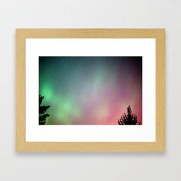 Jupiter and the Aurora (4) Framed Art Print