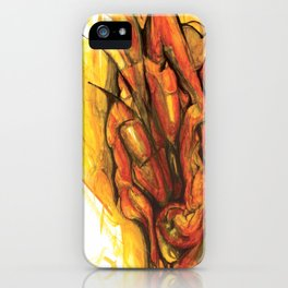 Bleeding Giraffe Heart iPhone Case