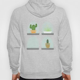 Terrarium | on White Hoody