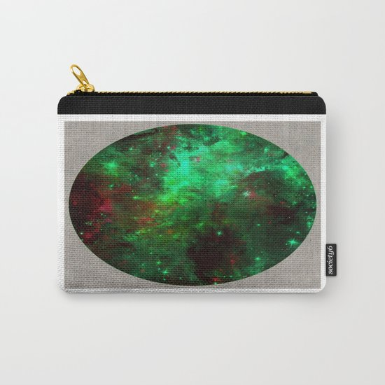 Captured Space - Abstract, geometric, outer space themed art Carry-All Pouch