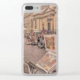 Strade di Roma Clear iPhone Case