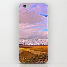 Alaskan Interstate iPhone Skin
