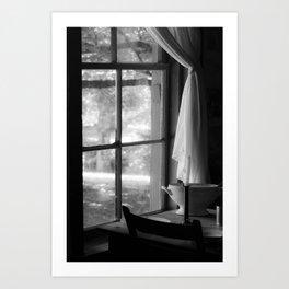 window in time Art Print